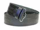 New Celtic Knot Embossed Scottish Highland Kilt Belt Sizes