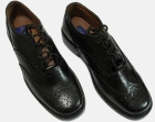 MENS FORMAL GENUINE BLACK LEATHER LACE UP BROGUE Shoes
