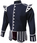 frontside Dark Blue Pipe Band Doublet