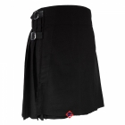 Scottish Kilts Black 5 Yard Party Kilt